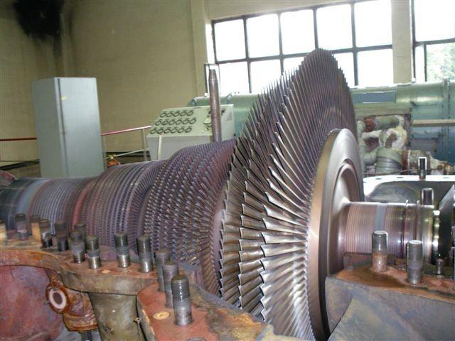 General overhaul of steam turbine