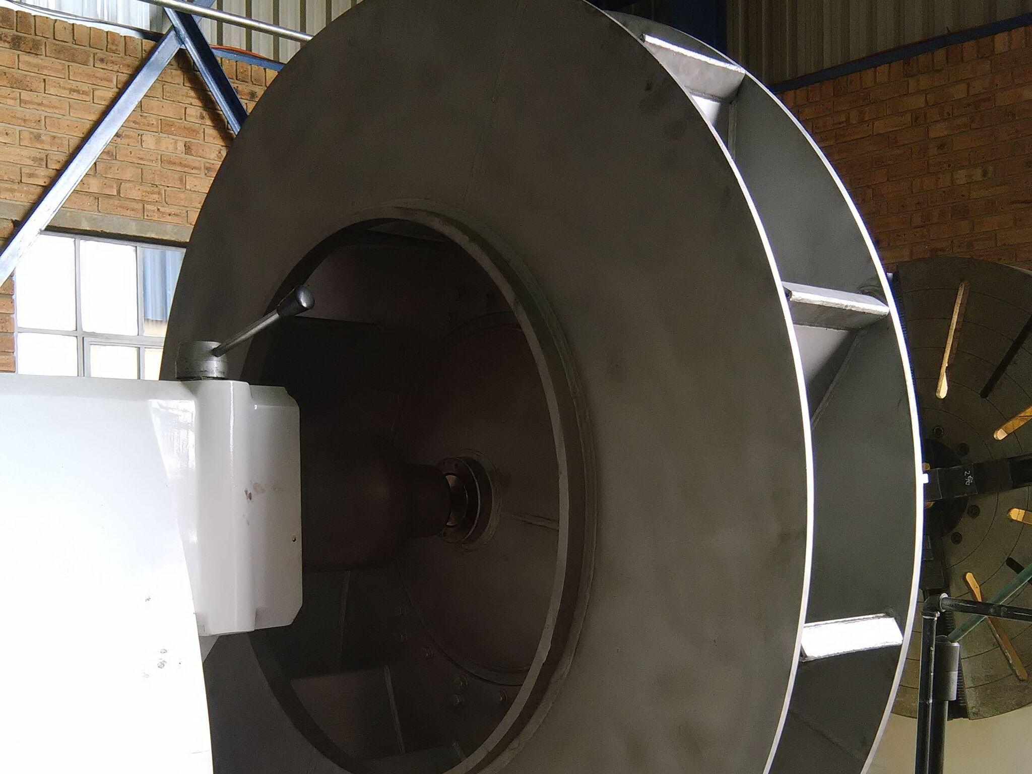 Machining fan